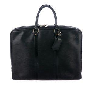 Mens Pristine Louis Vuitton Epi Leather Briefcase.